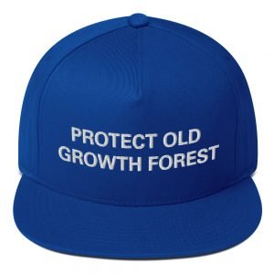 Protect Old Growth Forest Cap. Reggae Rasta Cap Rastagearshop.com Jamaican Reggae and Rastafarian embroidered Designs on Merchandise.