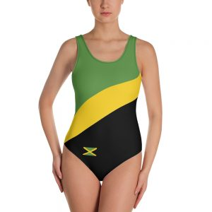 Jamaican one-piece swimsuit at Rasta Gear Shop