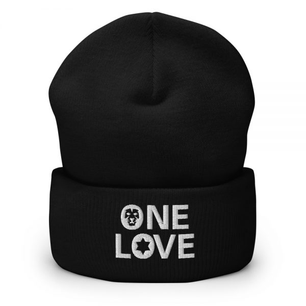 one love beanie black and many other colors rastagearshop merchandise and clothing