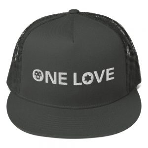one love trucker cap in assorted colors rastagearshop merchandise and clothing