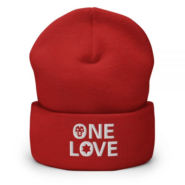 one love beanie red and many other colors rastagearshop merchandise and clothing