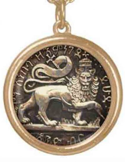 Lion of Judah Pendant Necklace Rastagearshop.com