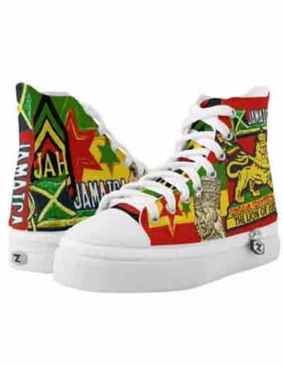 Reggae Steppers Rasta Shoes at Rasta Gear Shop. Rastfarian Jamaican and Reggae Merchanidse clothing and accessories.