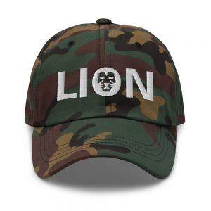 Rasta Lion Cap Black Rastagearshop merchandise and clothing