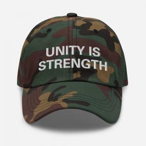 Unity is Strength Cap Camouflage Rasta Gear Shop Caps Hats and clothing